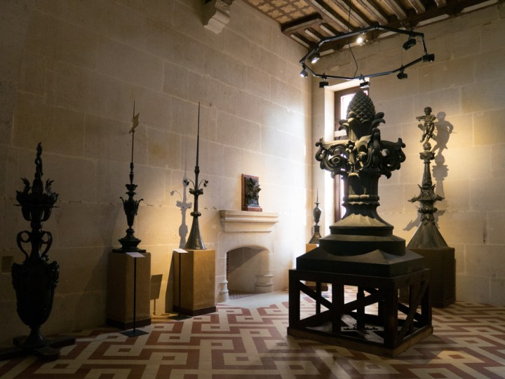 The guest wing and atelier Monduit collection - Chateau de Pierrefonds, France - www.RoadTripsaroundtheWorld.com