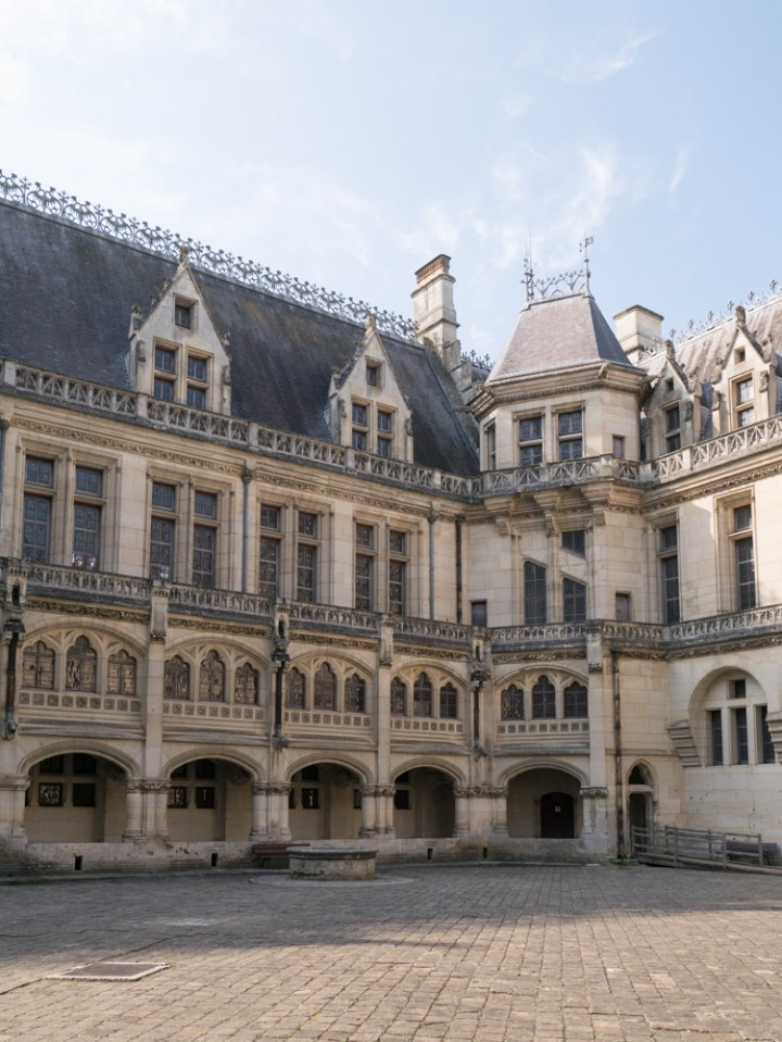 The main building - Chateau de Pierrefonds, France - www.RoadTripsaroundtheWorld.com