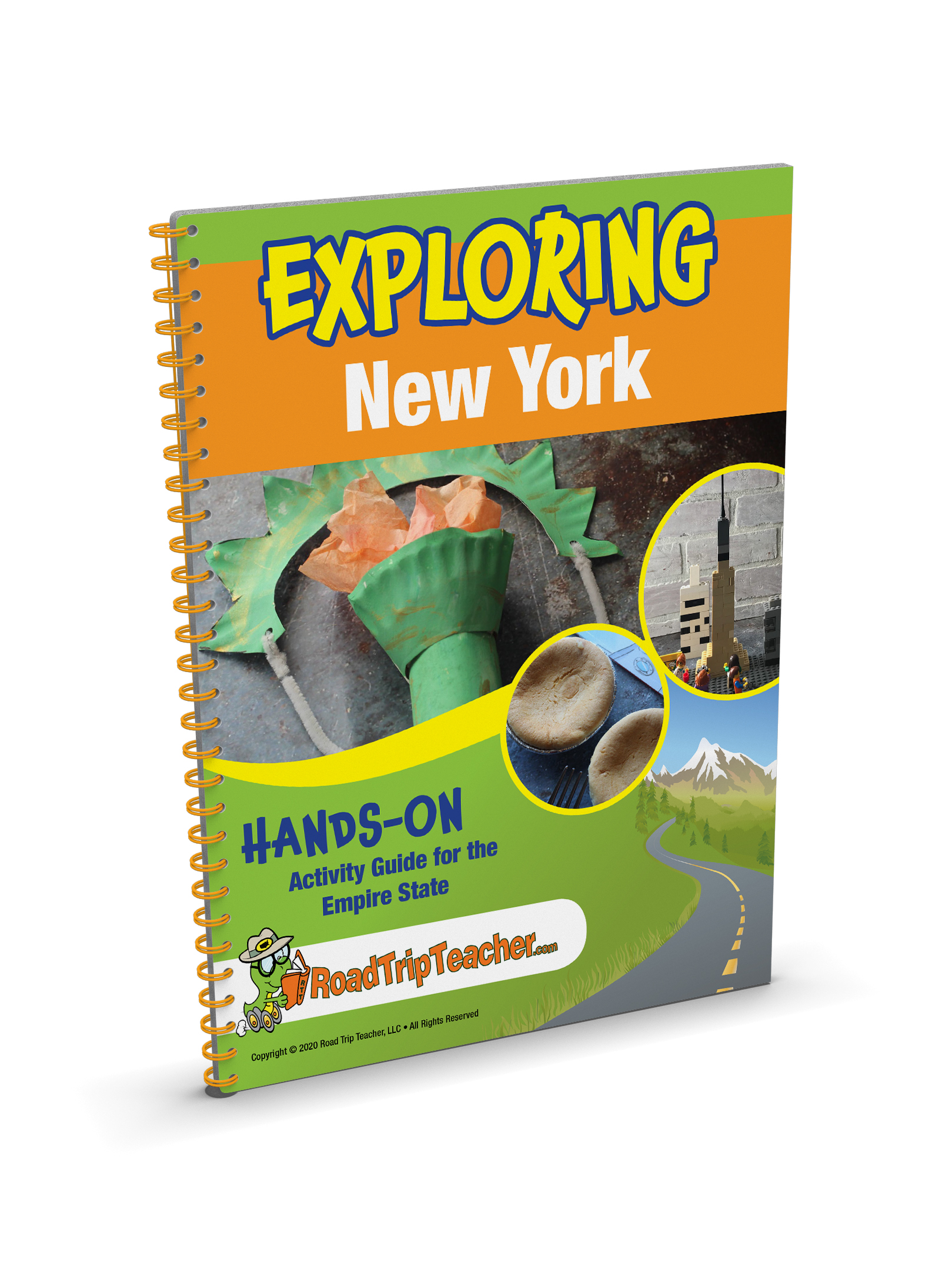 Exploring New York A Hands On Activity Guide For The