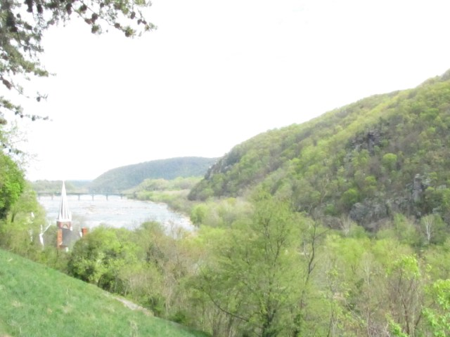 View from Jefferson Rock- Harpers Ferry National Historical Park