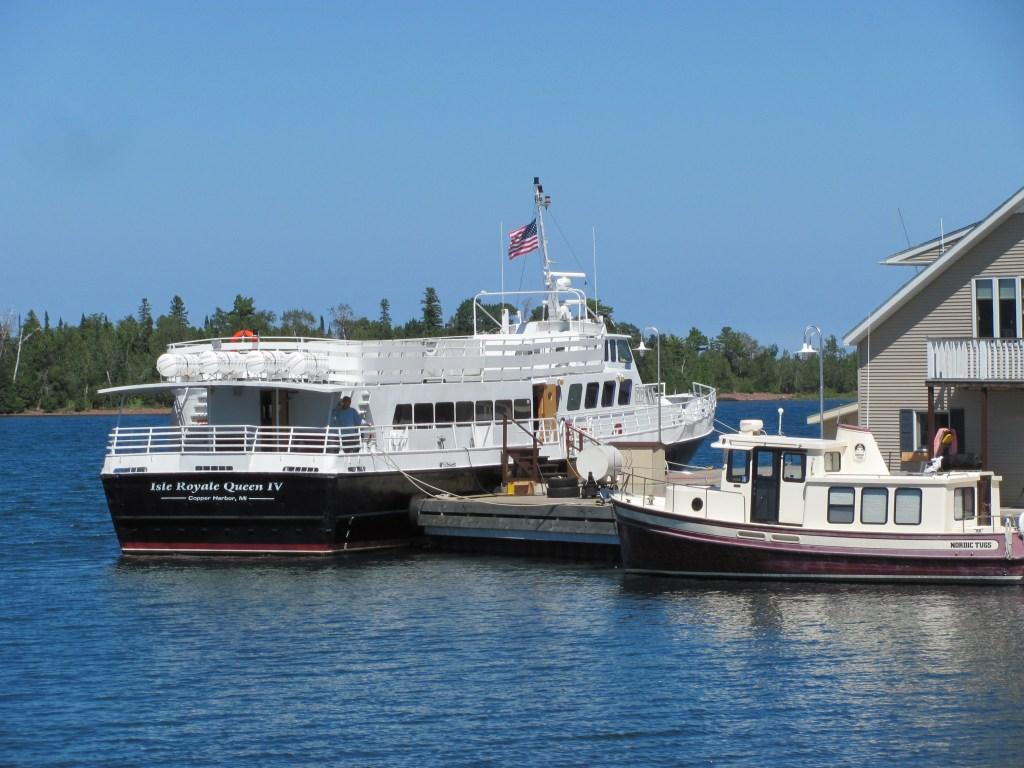Isle Royale Queen IV - Michigan Road Trip