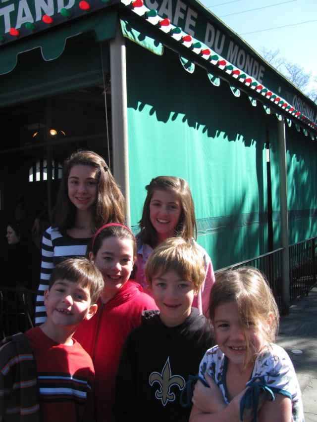 New Orleans With Kids: Cafe Du Monde