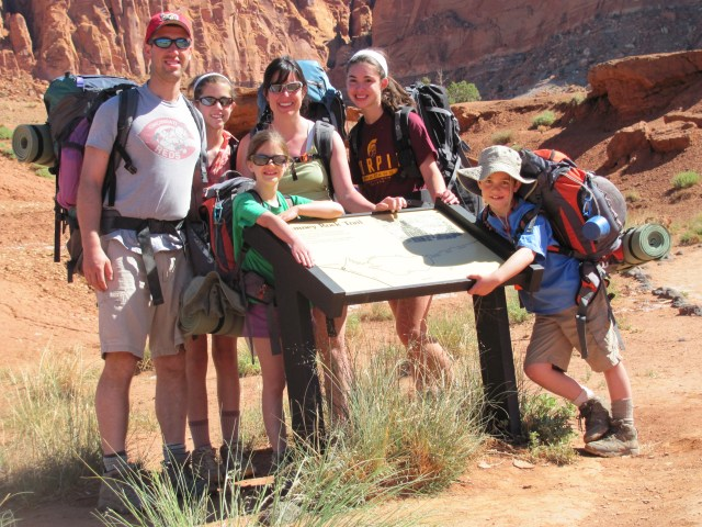 Backpacking Capitol Reef: First Backpacking Trip- The Chimney Rock Trail in Capitol Reef National Park