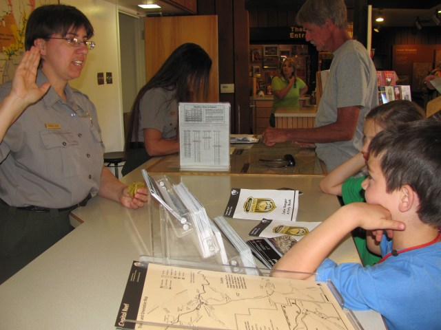 Backpacking Capitol Reef: Junior Rangers at Capitol Reef National Park