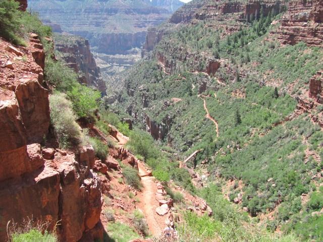 Grand Canyon Rim to Rim with kids- North Kaibab Trail