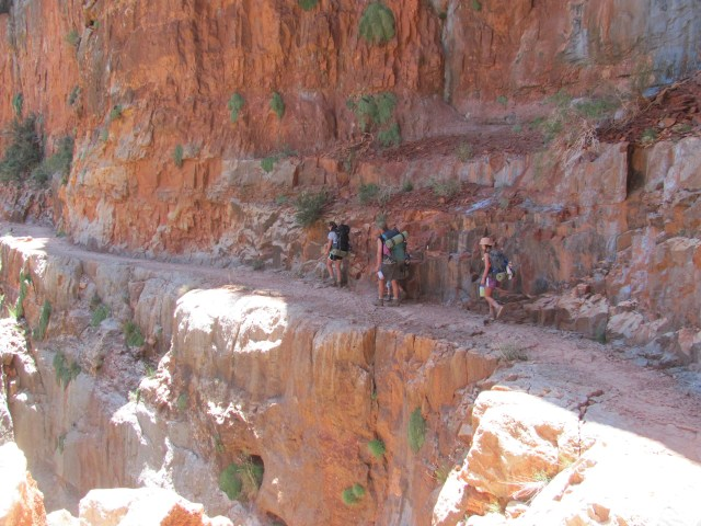 Grand Canyon Rim to Rim with kids -Views on the North Kaibab Trail in Grand Canyon National Park