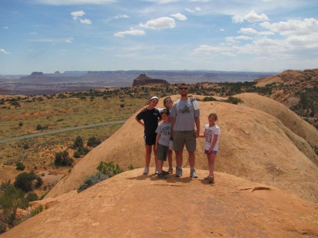 The Top of Whale Rock in Canyonlands National Park