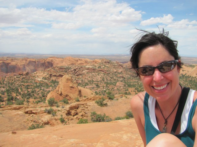 Tricia on Whale Rock