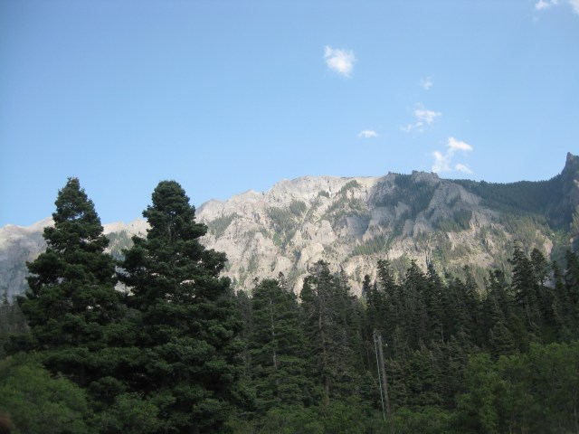 Million Dollar Highway  View From Amphitheater Campground