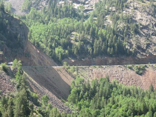 Million Dollar Highway  Steep Roads in Colorado