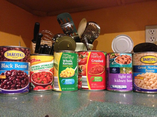 Canned Foods for Dehydrating