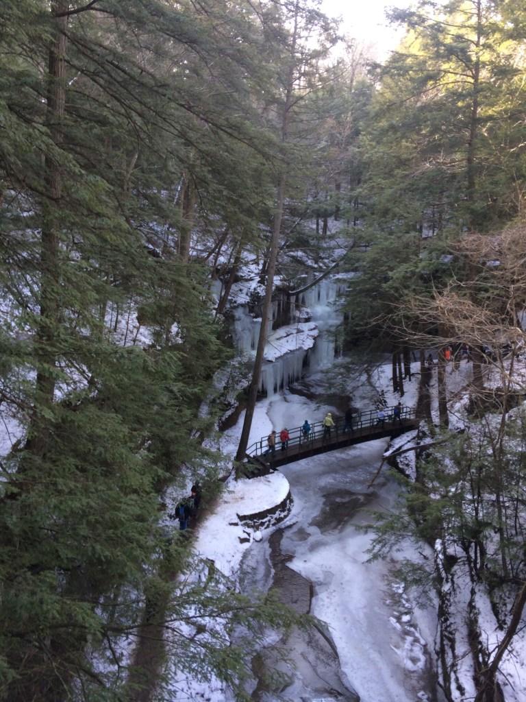 Hocking Hills State Park Winter Hike