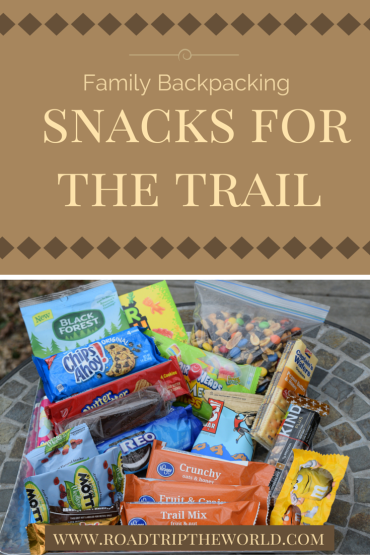 Family Backpacking Trail Snacks