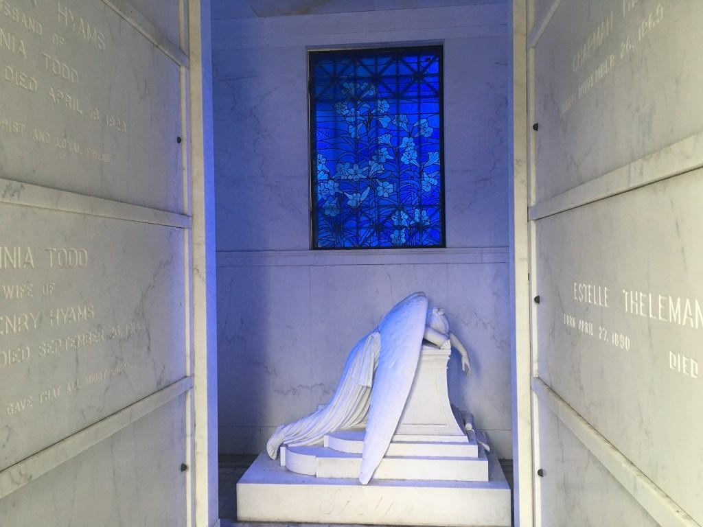 Weeping Angel at Metairie Cemetery