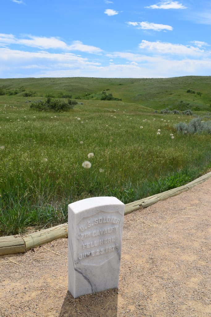 Battle of Little Bighorn National Monument with kids