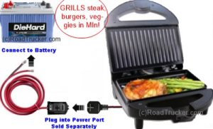 High Performance 12 Volt Contact Grill by Power Hunt