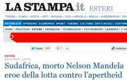 Errore su Mandela de La Stampa_RoadTv