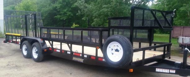 roadway utility trailers