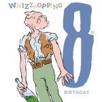 The BFG Age 8 Birthday Card