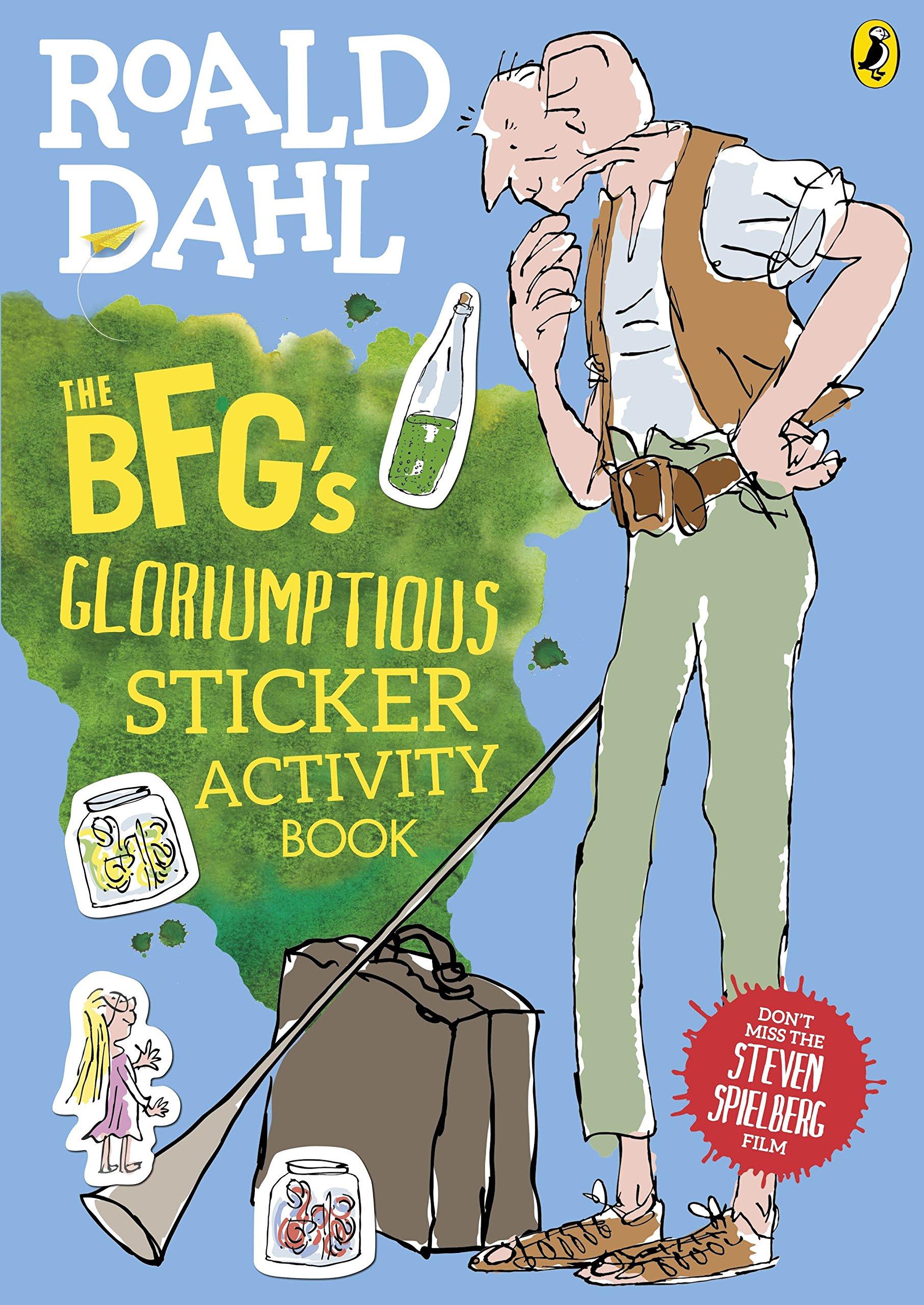 The Bfg S Gloriumptious Sticker Activity Book Roald Dahl