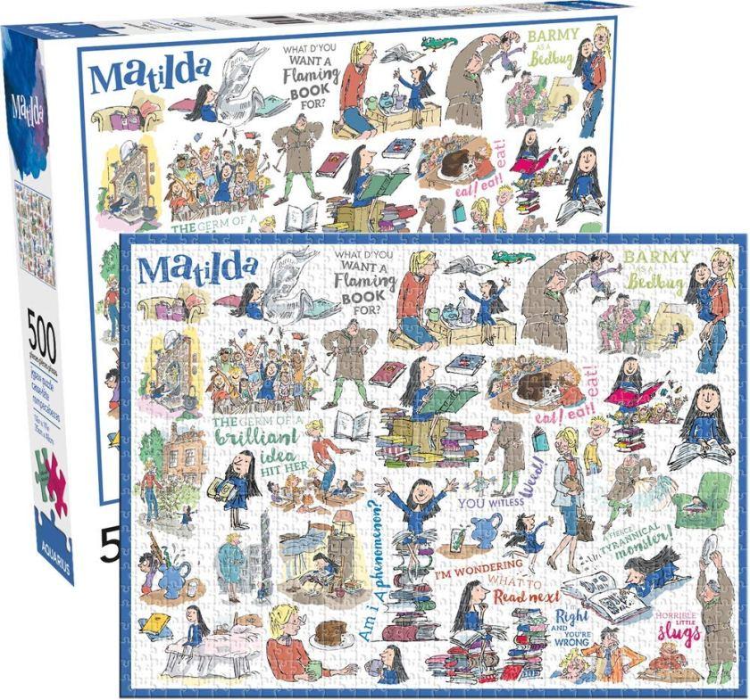 Matilda 500pc Puzzle