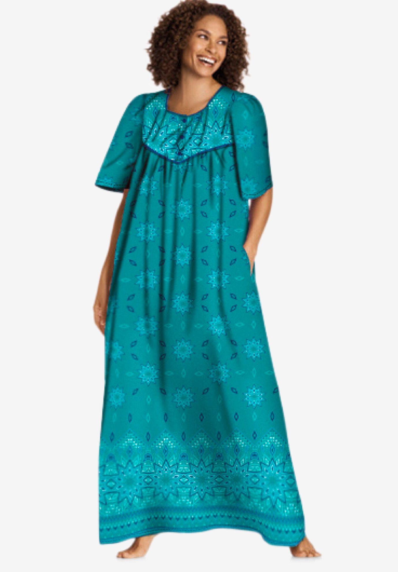 women s plus size lounge dresses roaman s