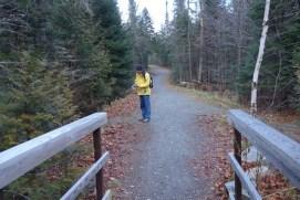 Start of the hike to SB hut