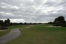 One of the many golf courses