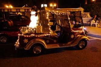 Santa's golf cart?
