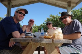 Lunch in Avalon State Park