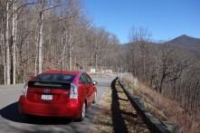 Blue Ridge Parkway road closure