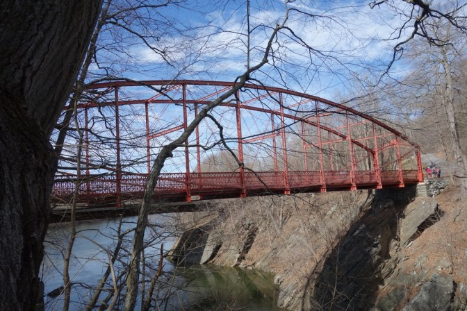 The Berlin Iron Bridge of Lover's Leap SP