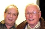 Steve and Neil Armstrong (Photo courtesy of Steve Katz)