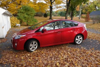 Our biggest piece of property: a Toyota Prius - our wheels to freedom :-)