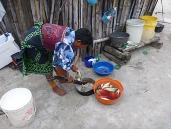 Dinner in Kuna Yala