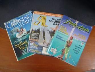 Popular American sailing magazines - current and old