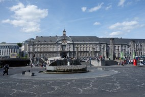 Prince-Bishops' Palace on the square