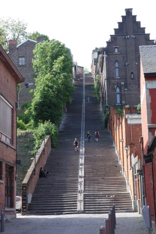 Bueren Stairs - a feat to climb