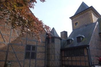 Nice buildings on a hidden courtyard