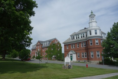 A couple of the many buildings at the campus