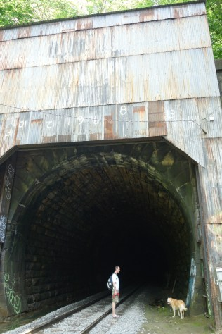 Start of the Hoosac Tunnel in North Adams