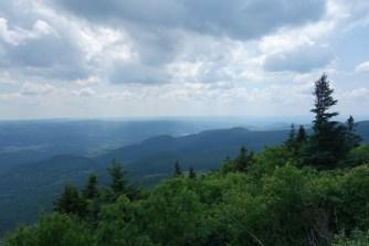 Along the way up Mt. Greylock