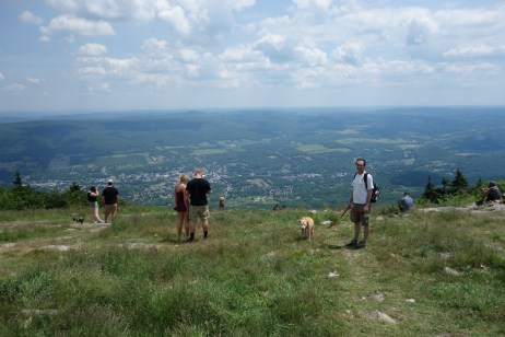 On the top of Mount Greylock