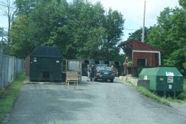 The garbage collection center
