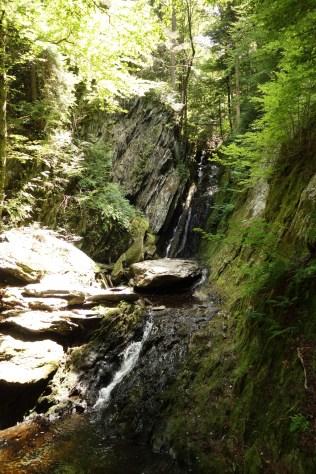Tannery Falls are pretty hidden