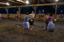 Square dance, or is it a round dance?