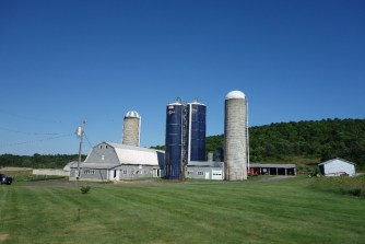 Most farms have one or more silos