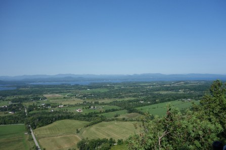 Morning view from the top of Mt. Philo