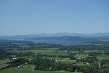 Lake Champlain during the day