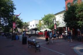 Church Street Marketplace scene